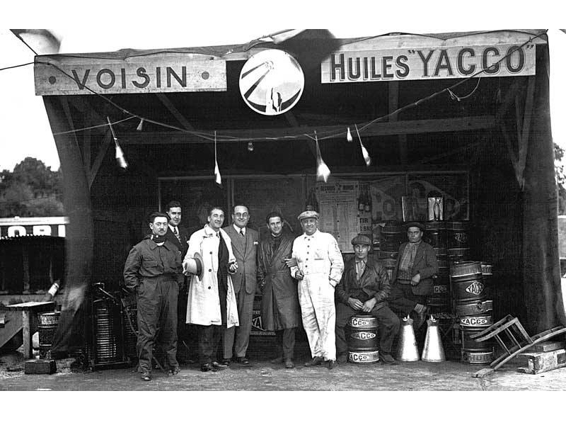 Yacco and Voisin, the origin of the history of prestigious oils