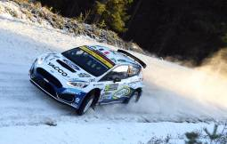 Photos of Sweden Rally 2020, with Adrien Fourmaux and Renaud Jamoul