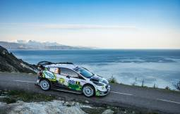 Tour de Corse Rally 2018, with Bryan and Xavier