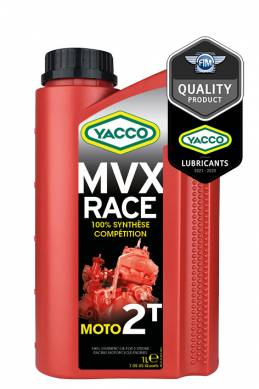 Synthetic 100% Moto / quad / Karting MVX RACE 2T