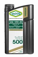Synthetic technology Automobile Yacco VX 500 SAE 10W40