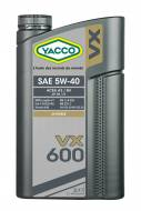Synthetic Automobile Yacco VX 600 SAE 5W40